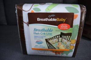 Breathable Baby Bumpers for Crib - Brand New - Never Opened