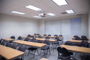 Mississauga: space sharing suitable for Classroom or Office