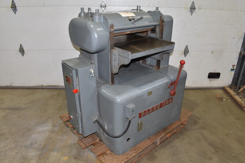 "Parks No. 20 Planer, 20"", 3600 RPM, 5HP, TESTED"