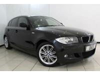 2010 60 BMW 1 SERIES 2.0 118D M SPORT 5DR 141 BHP DIESEL