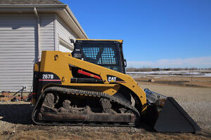 Used 2007 CAT 267B Track Skid Steer w/ attachments