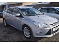 Ford Focus Titanium 1.6 TDCi 115 PS ** 6 MONTH WARRANTY ** (silver) 2011