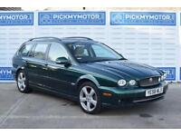 2008 58 JAGUAR X-TYPE 2.2 SOVEREIGN 5D AUTO 145 BHP DIESEL