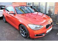 2013 63 BMW 1 SERIES 2.0 116D SPORT 3D 114 BHP DIESEL