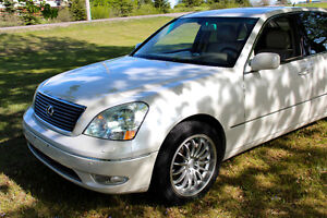 2001 Lexus LS430, Perl White with Ultra Premium package