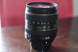 Objectif Nikon DX 16-80mm