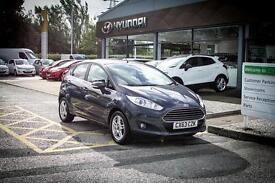 2013 63 FORD FIESTA 1.0 EcoBoost Zetec 5dr in Grey
