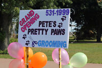 PETE'S PRETTY PAWS DOG GROOMING -531-1999