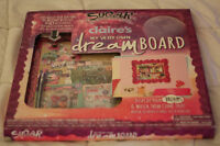 Claire's Dream Board set with stickers and bulletin board