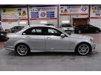 2009 59 MERCEDES-BENZ C CLASS 2.1 C220 CDI BLUEEFFICIENCY SPORT 4D AUTO 170 BHP