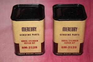 1949-56BRAND NEW OLD STOCK  MERCURY  WHEEL AND LIGHT LENS PARTS