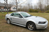 2000 Ford Mustang Coupe Pony Package