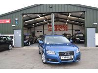 2009 Audi A3 1.9TD DIESEL MANUAL Sportback BLUE