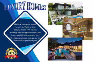 LUXURY HOMES, Complete list with pictures
