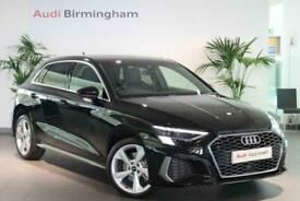 image for 2021 Audi A3 SPORTBACK 40 TFSI e S line 5dr S Tronic Auto Hatchback Petrol Plugi