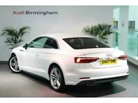 2017 Audi A5 DIESEL COUPE 2.0 TDI S Line 2dr S Tronic Auto Coupe Diesel Automati