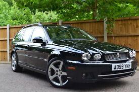 2009 Jaguar X-TYPE 2.2D DPF Auto Diesel Estate SE £152 A Month £0 Deposit