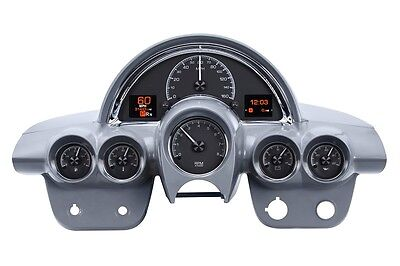 Dakota Digital 58-62 Chevy Corvette Car Custom Analog Gauges Black HDX-58C-VET-K