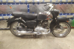 Early Honda 150 Benly Project