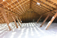 Attic Insulation Services Install & Removal.