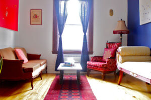 Sunny Villeray 5 1/ 2 with Parking- Avail. Mar. 1st