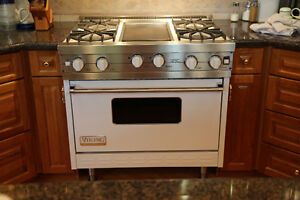 "36"" Viking Professional Stove"