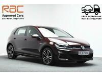 2018 Volkswagen Golf 1.4 GTE DSG 5d 204 BHP Hatchback Semi Automatic
