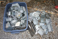 "JOB LOT  ""ASSORTEMENT ELECTRICAL BOXES  AND MORE"""