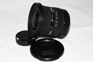 New condition SIGMA for Pentax 10 - 20mm f3.5 wide angle lens