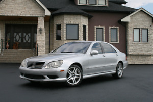 2003 Mercedes-Benz S-Class S55 AMG 500HP SUPERCHARGED FAST