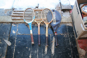 Tennis Rackets and Badminton Rackets