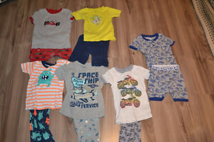 Boys Size 4 summer pajamas Carters, Old Navy, Joe Fresh EUC
