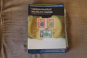 Canadian Philatelist back issues