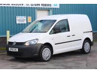 2011 VOLKSWAGEN CADDY C20 2.0 TDI 140 BHP SWB DIESEL 6 SPEED MANUAL VAN, 1 OWNER