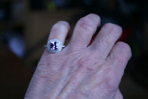 Beautiful Amethyst Ring NEVER WORN