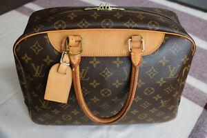 Louis Vuitton Monogram Deauville Bag Authentic