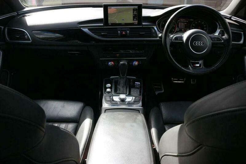2016 Audi A6 2.0 AVANT TDI ULTRA BLACK EDITION 5d 188 BHP Estate Diesel Semi Aut