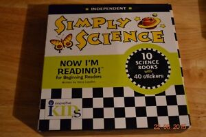 New Readers Simply Science book