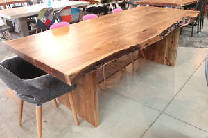 acacia tables, artemano style tables, rustic tables, wood table
