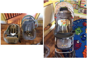 Winnie the Pooh Stroller/Car Seat combo