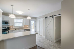 BRAND NEW Renovated 3 Bedroom/2 Bathroom Duplex Downtown Moncton