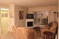 Air-conditioned 2 bed/ 2 bath fully furnished Executive condo