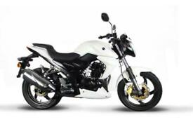 SYM Wolf SB 125cc Sports Naked Motorcycle Learner Legal bike 5 years Warranty