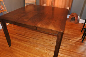 Pub Style Dining Room Table
