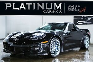 2009 Chevrolet Corvette ZR1/ 3LZ PKG/ 640 HORSEPOWER/ NAVIGATION