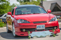 2003 Hyundai Tiburon GT Coupe (2 door)
