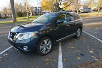 2013 Nissan Pathfinder SUV, w/extended warranty
