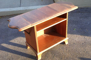 1930's Era Entertainment Stand & Bookcase