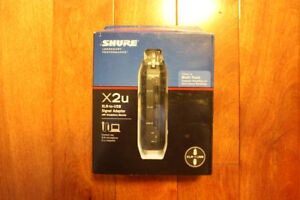 Shure X2U XLR-to-USB Signal Adapter