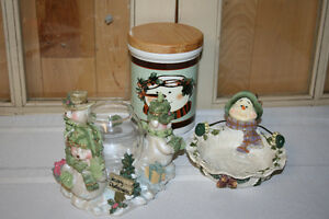 C.  Snowman Theme Decorations-See photos NEW PRICES